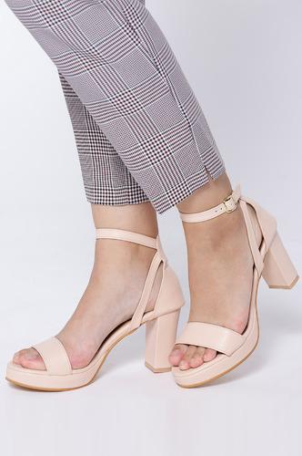 Heels and Wedges-Always On Top Block Heels