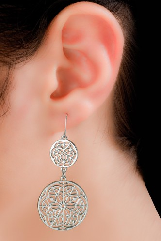 Earrings-An Ode To Time Earrings