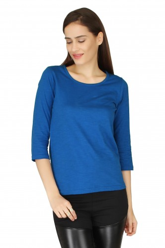 T-Shirts-Basics of Life Blue Tee