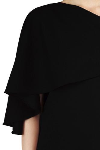 Tops-Black Drapes Of The Cape Top