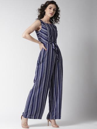 Jumpsuits-Blurring The Lines Stripe Jumpsuit