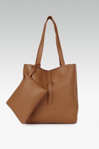 Hand Bags-Bold Brown Handbag