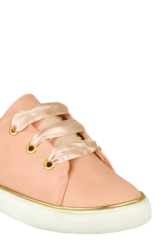 Sneakers and Loafers-Bright And Pink Sneakers