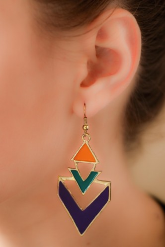 Earrings-Colour Me Crazy Earrings