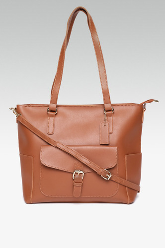 Hand Bags-Crazy In Love Brown Handbag