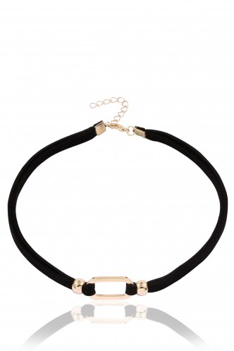 Necklaces-Empty Your Mind Choker Necklace