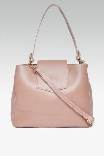 Hand Bags-Errands To Run Pink Mini Handbag