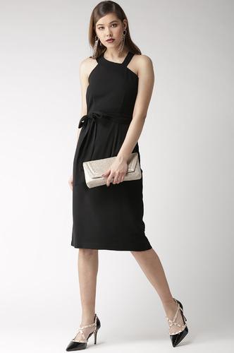Dresses-Falling All In You Black Dress