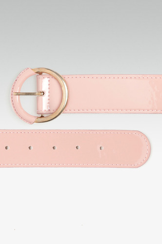 Belts-Falling For The Blush Pink Belt