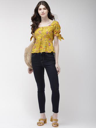 Tops-Florals On Your Side Top