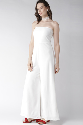Jumpsuits-For The Love Of White Jumpsuit
