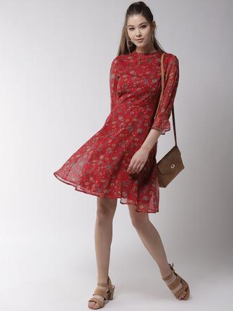 Dresses-Girl On Fire Floral Dress