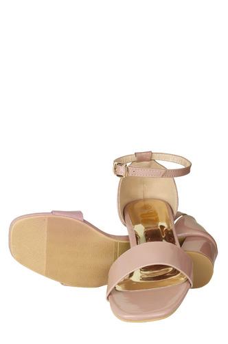 Heels and Wedges-Give Me Pink Block Heels