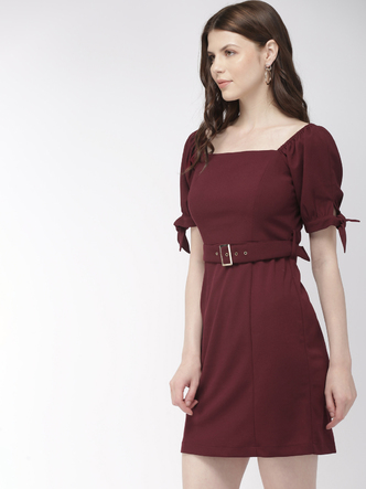 Dresses-Glamour On The Move Sheath Dress