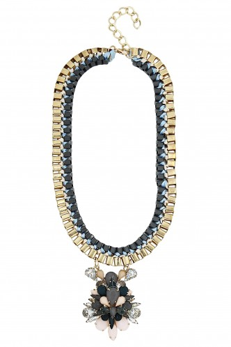 Necklaces-Grey Elizabeth Royalty Necklace