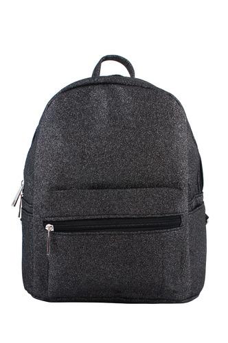 Backpacks-Grey Glitter Sky Backpack
