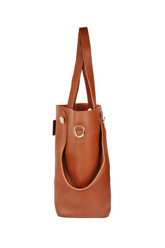 Hand Bags-Handles In Double Handbag