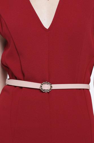 Belts-Here I Go Again Pink Slider Belt