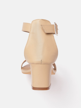 Heels and Wedges-High On You Flared Heels