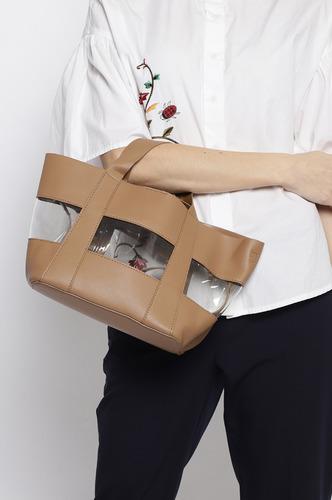 Hand Bags-Holding All My Love Brown Mini Handbag