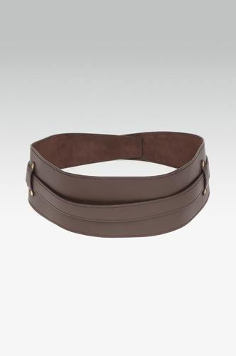 Belts-I Am On Fire Brown Waist Belt