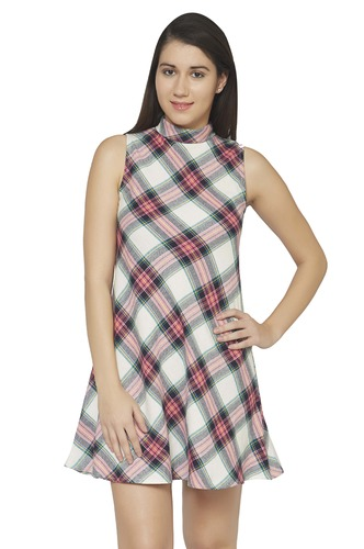 Dresses-In With The Plaid Dress