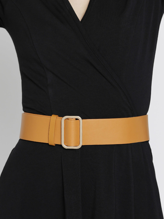 Belts-Instant Glamour Brown Waist Belt