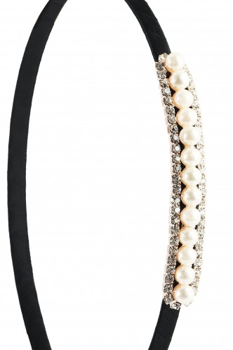 Hair Accessories-Moonlit Diamond Hairband