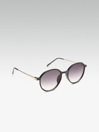 Sunglasses-Moving In Circles Black Sunglasses