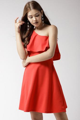 Dresses-Orange Where Is My Love Dress