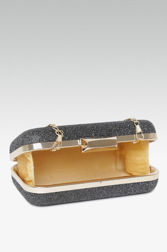 Clutches-Own Your Glow Black Clutch