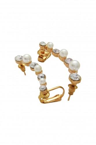 Ear Cuffs-Pearl Delight Ear Cuff Pair