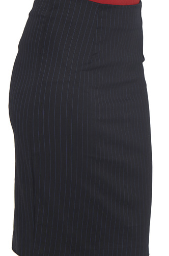 Shorts and Skirts-Pinned With Stripes Pencil Skirt
