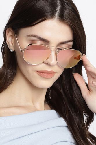 Sunglasses-Play It Cool Rose Gold Sunglasses