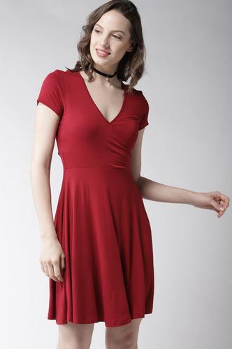 Dresses-Red Hot Summer Dress