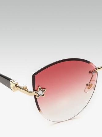 Sunglasses-Seeing Stars In Pink Sunglasses