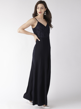 Dresses-Stepping In Glamour Slit Dress