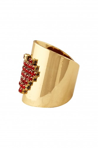 Rings-Studded With Love Ring