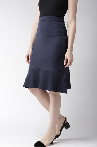 Shorts and Skirts-Sway In Style Trumpet Skirt
