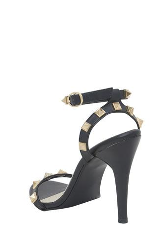 Heels and Wedges-The  Stud Stunner Heels