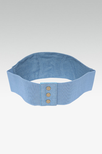 Belts-The Denim Blues Corset Belt