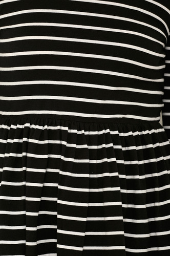 Tops-The Essential Stripes Peplum Top