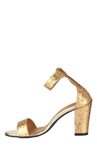 Heels and Wedges-The Eternal Sparkle Block Heels