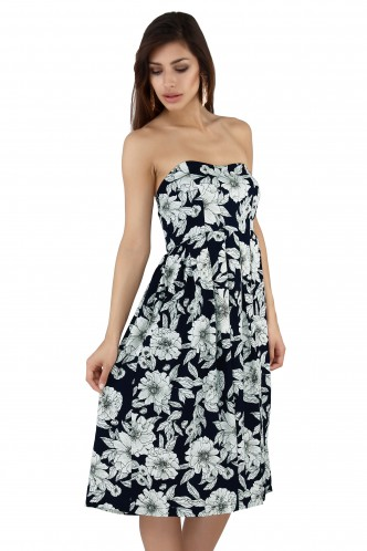 Dresses-The Floral Summer Nights Dress