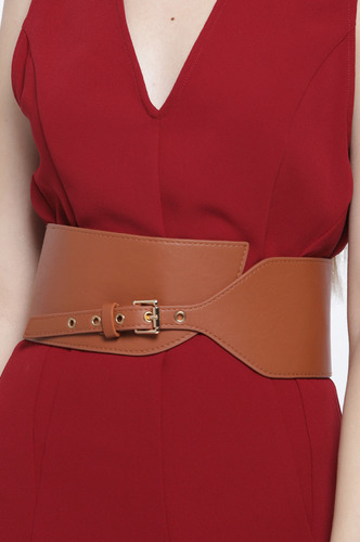 Belts-The Game Of Style Brown Waist Belt