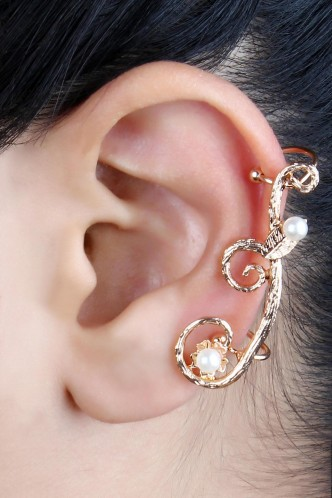 Ear Cuffs-The Lost Treasure Ear Cuff Pair