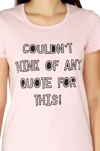 T-Shirts-The Quoteless Humor Tee