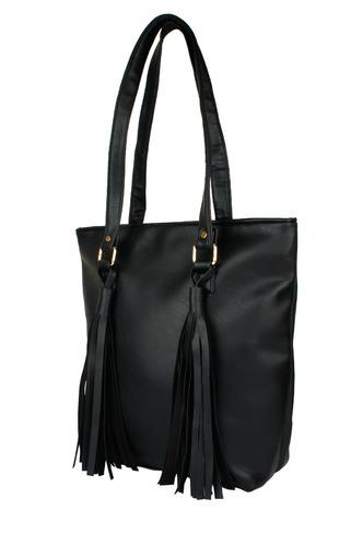 Hand Bags-The Tasseled Fringe Handbag