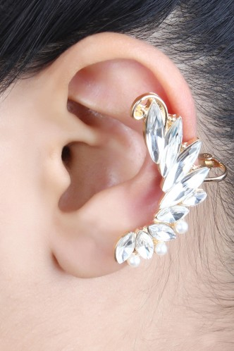 Ear Cuffs-The Wings Of Glory Ear Cuff Pair