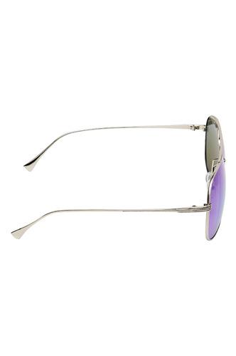 Sunglasses-Turn Up The Blue Sunglasses